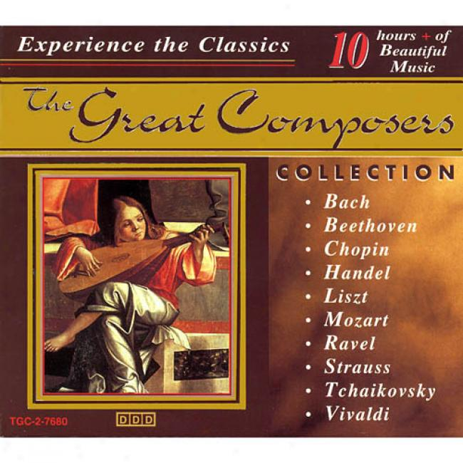 The Great Composers Collection (10 Disc Box Set)