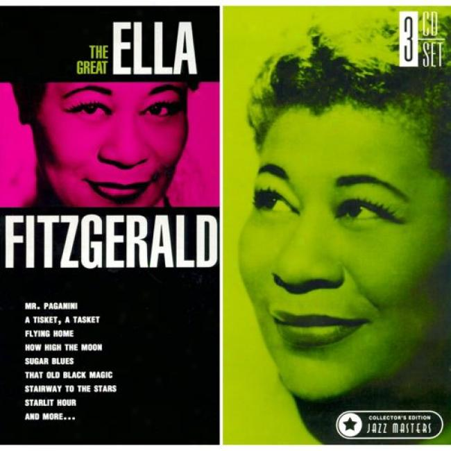 The Great Ella Fitzgerald (collector's Impression) (3 Disc Box Set)