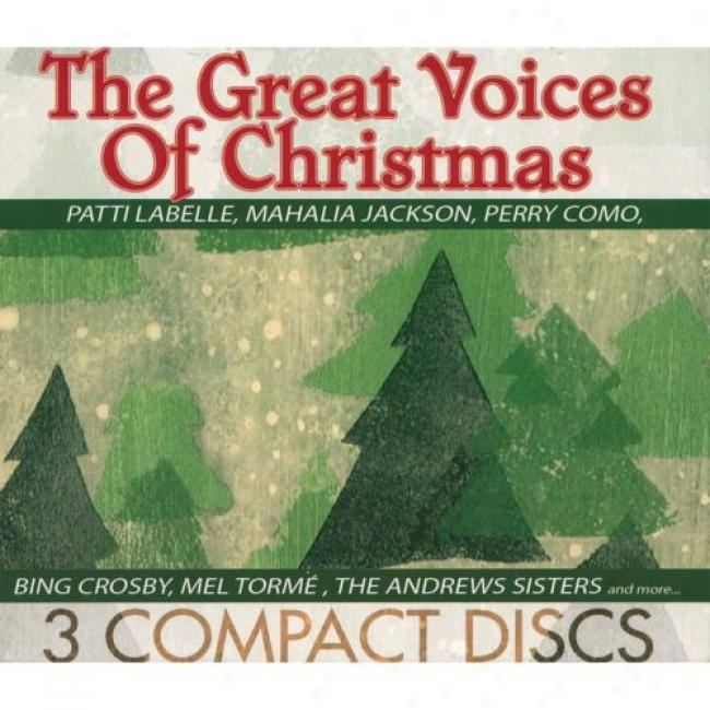 The Great Voices Of Christmas (3 Disc Box Set)