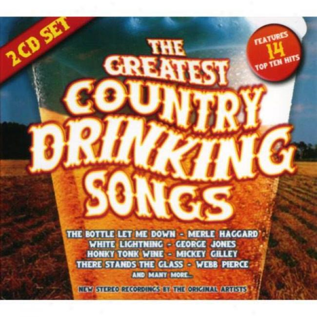 The Greatest Country Drinking Songs (2cd) (digi-pak)