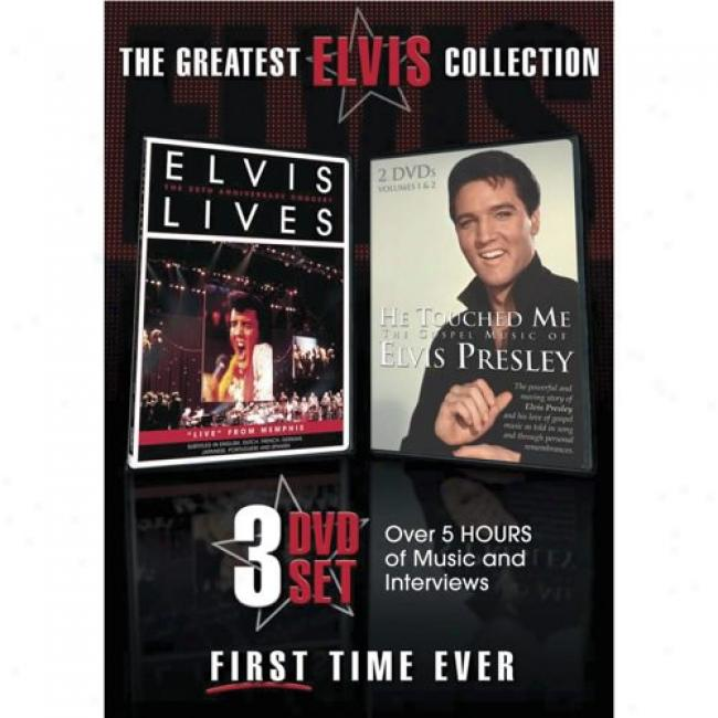 The Grea5est Elvis Collection (3 Discs Music Dvd) (dvd Slipcase)