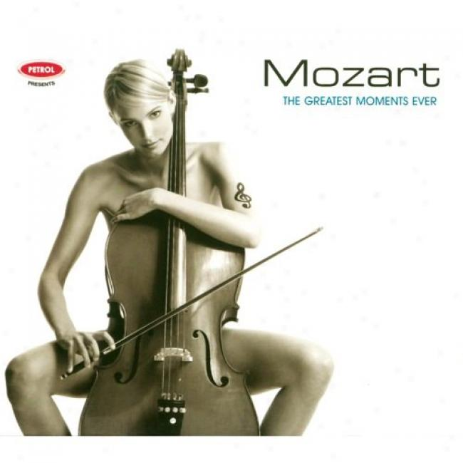 The Greatest Moments Evr: Mozart (cd Slipcase)