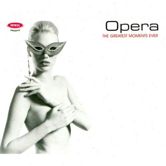 The Greatest Moments Ever: Opera (cd Slipcase)