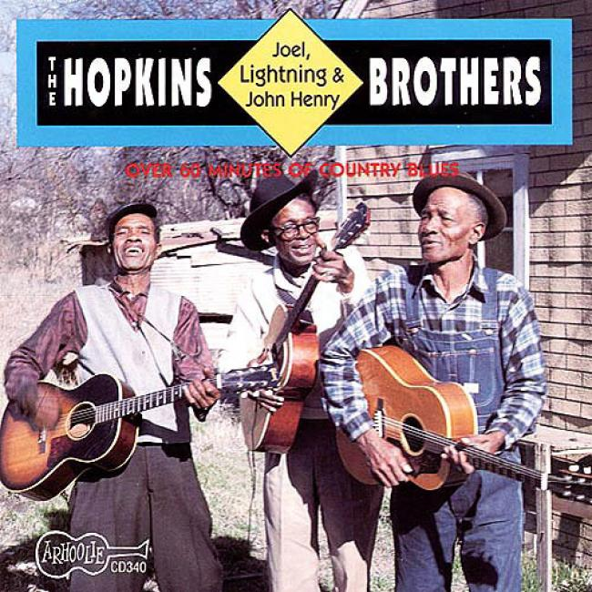 The Hopkins Bros: Lightning, Joel & John Henry