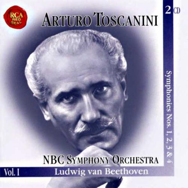 The Immortal Toscainni Vol.1: Symphonies Nos.1-4