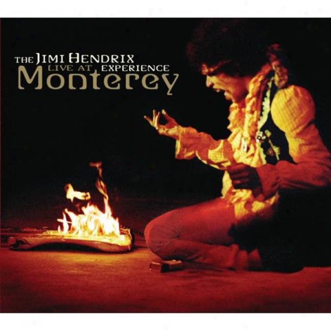 The Jimi Hendrix Experience: Live At Monteret (digi-pak)