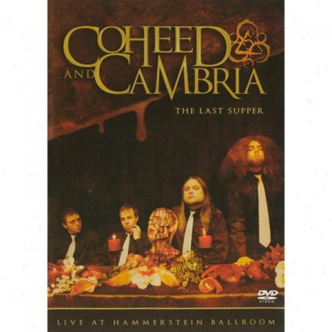 The Last Supper: Live At Hammerstein Ballroom (music Dvd) (amaray Case)