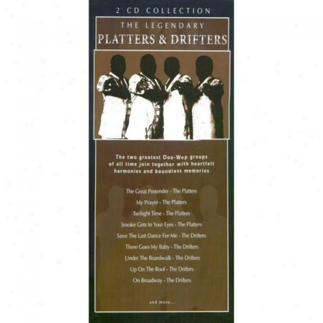 The Legendary Platters & Drifters (2 Disc Box Set)