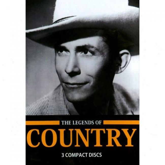 The Legends Of Country (3 Disc Box Set) (iwth Biodegradable Packaging)