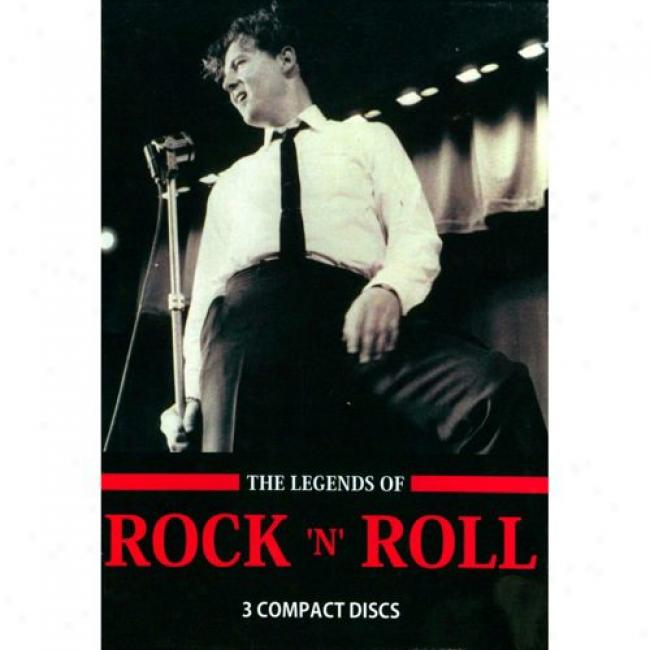 The Legends Of Rock 'n' Roll (3 Disc Box Regular) (with Biodegradable Packaging)