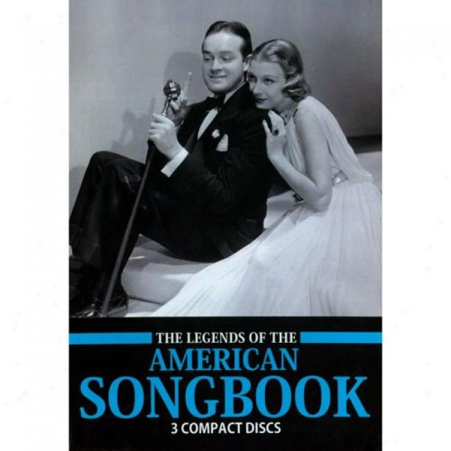 The Legends Of The American Songbok (3 Disc Box Set) (with Blidegradable Packaging)