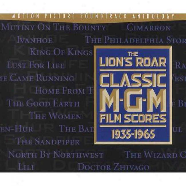 The Lion's Roar: Elegant Mgm Film Scores 1935-1965