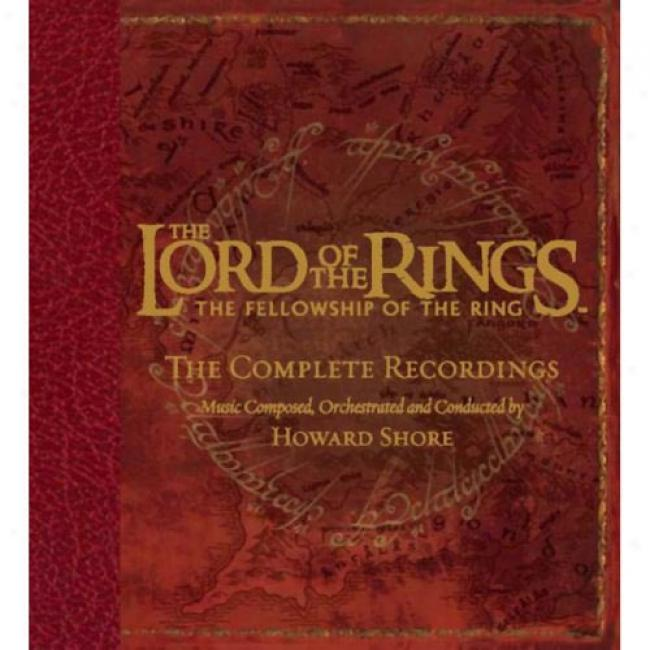 The Lord Of The Rings, The Fellowship Of The Ring: The Complete Recordings Account (3 Disc Box Set) (includes Dvd)