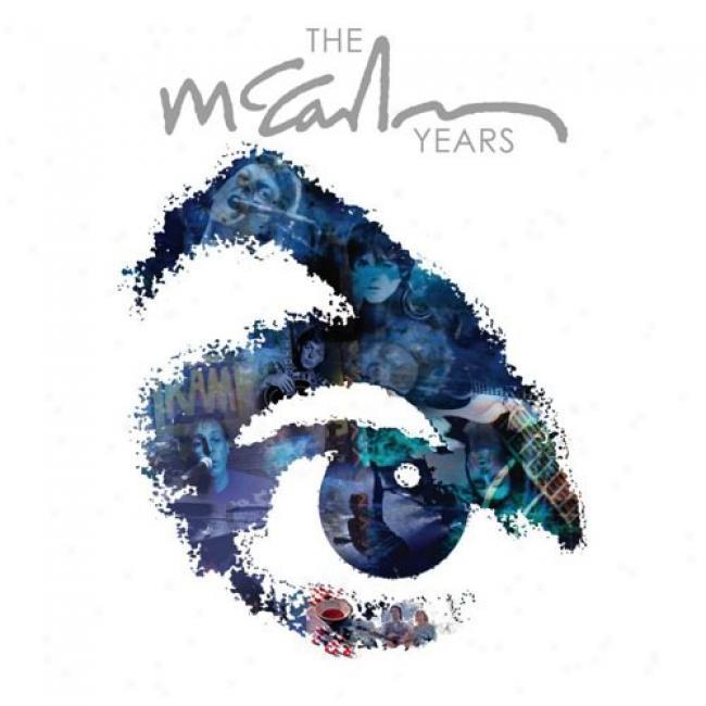 The Mccartney Years (3 Discs Music Dvd) (dvd Slipcase)