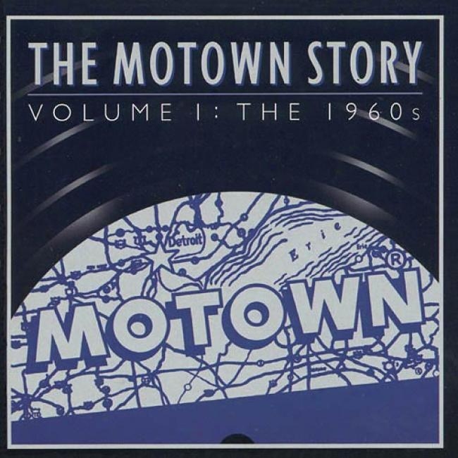 The Motown Story, Vol.1: The 1960's (2cd) (remaster)