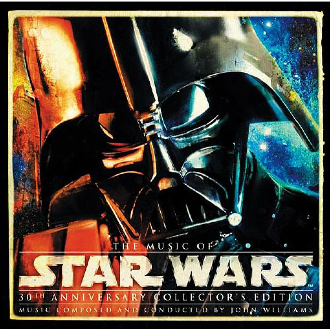 The Music Of Star Wars: 30th Aniversary Collector's Editio nScore (30th Anniversary Collector's Impression) (8 Disc Box Set) (includes Cd-rom)