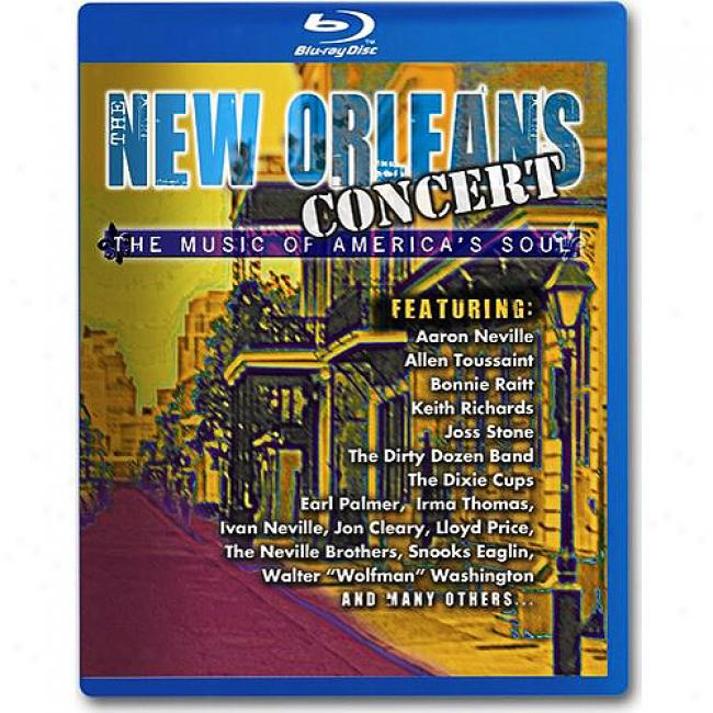 The New Orleans Agreement: The Music Of America's Soul (blu-ray)