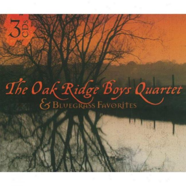 The Oak Ridge Boys Quartet & Buegrass Favorites (3cd) (digi-pak)