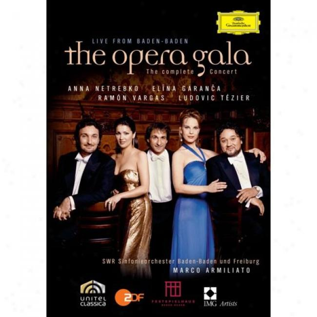 The Opera Gala: Live From Baden-baden (music Blu-ray) (bd Amaray Case)