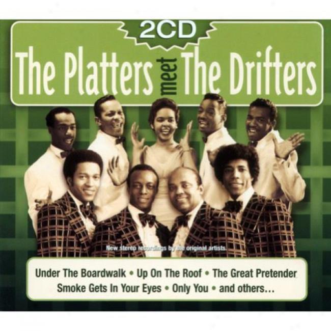 The Platters Meet The Drifters (2cd) (digi-pak)