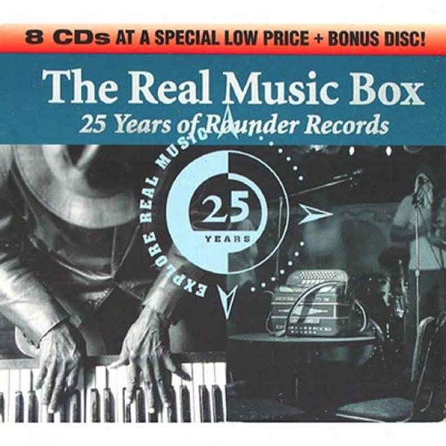 The Real Music Box: 25 Years Of Rounder Records (box Set)