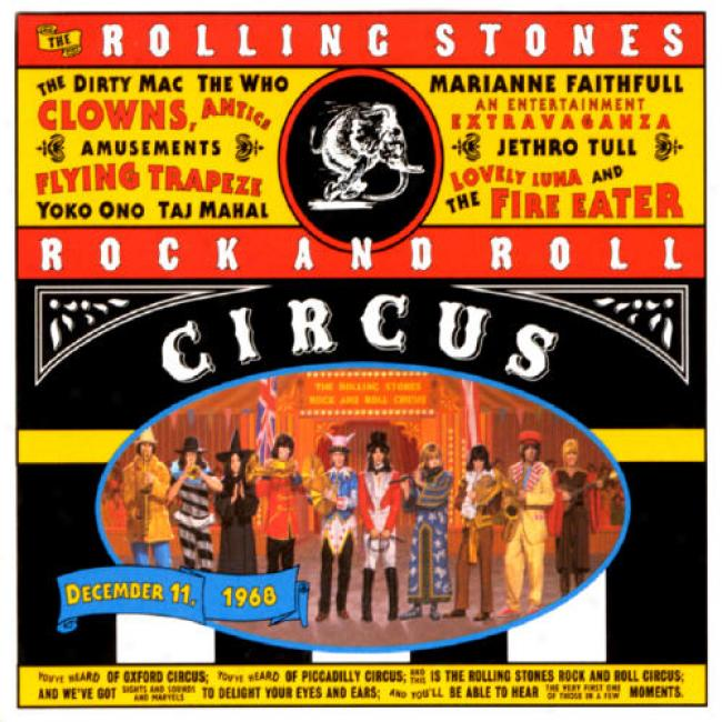 The Rolling Stones Rock And Roll Circus (cd S1ipcase)