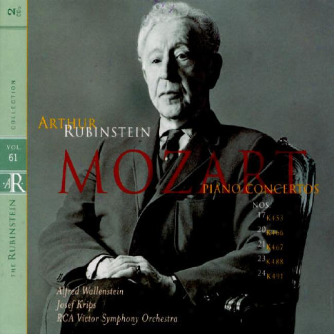The Rubenstein Collection, Vol.61: Mozart (2cd) (remaster)