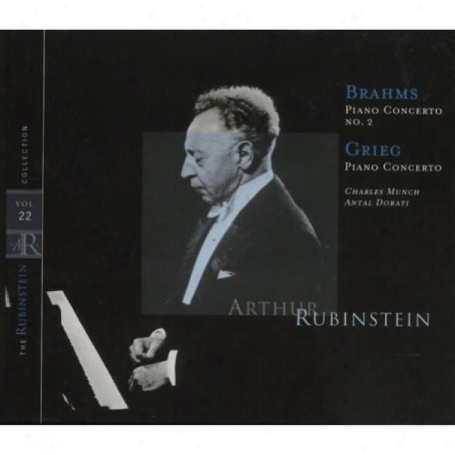 The Rubinstein Collection, Vol.22: Brahms/grieg - Piano Concertos (remaster)