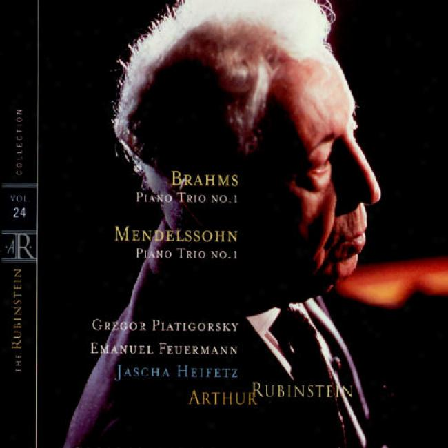 The Rubinstein Collection Vol.24: Mendelssohn - Piano Trio, Op.49/brahms - Piano Trio, Op.8