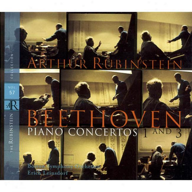 The Rubinstein Collection Vol.57: Piano Concertos 1 And 3