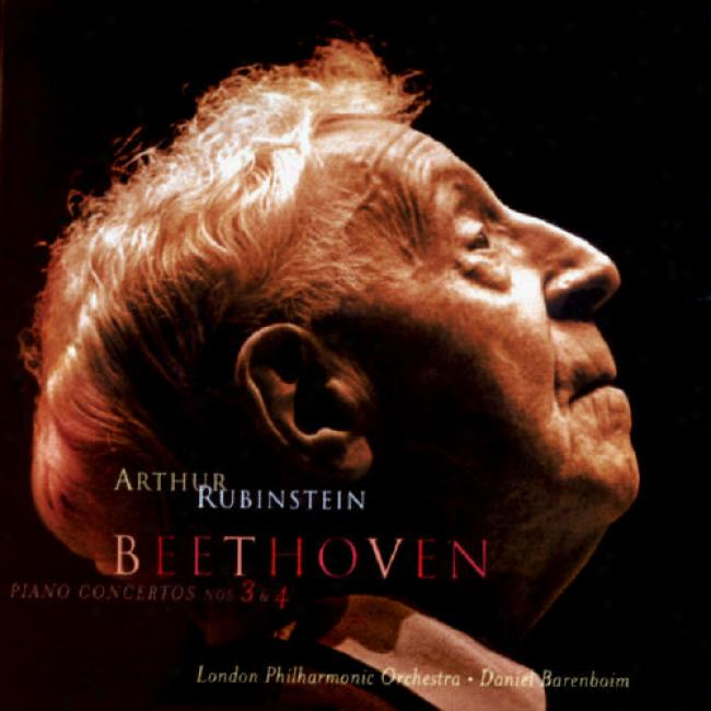 The Rubinstein Collection Vol.78: Beethoven Concertos 3 & 4