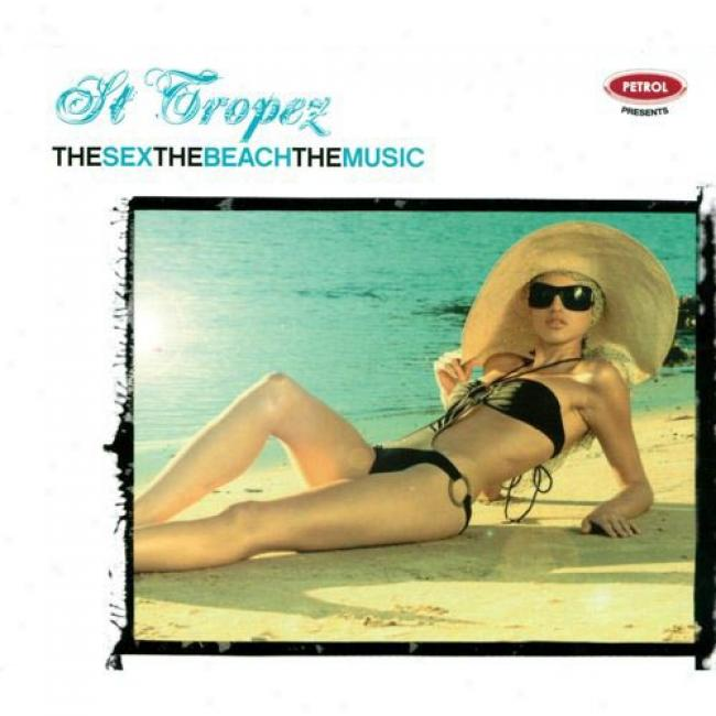 The Sex, The City, The Music: St. Tropez (cd Slipcase)