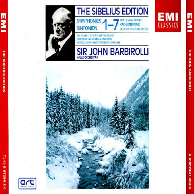 The Sibelius Edition: Symphonies 1-7/orchestral Works (5 Disc Box Set) (remaster)
