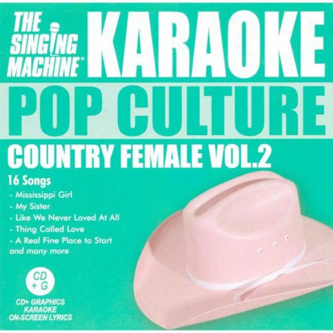 The Singing Machine: Pop Culture - Country Love Songs, Vol1
