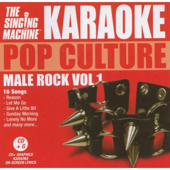 The Singing Machine: Pop Culture - Male Rock, Vol.1