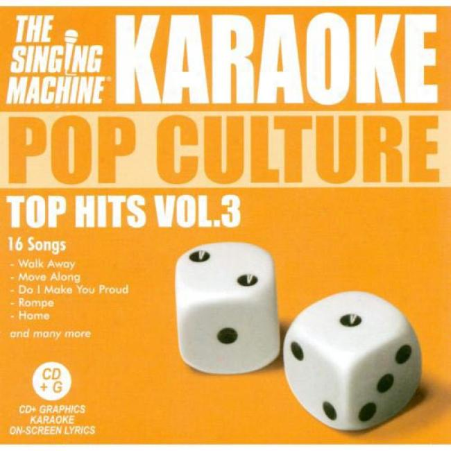 The Singing Machine: Pop Culture - Top Hitw, Vol.3