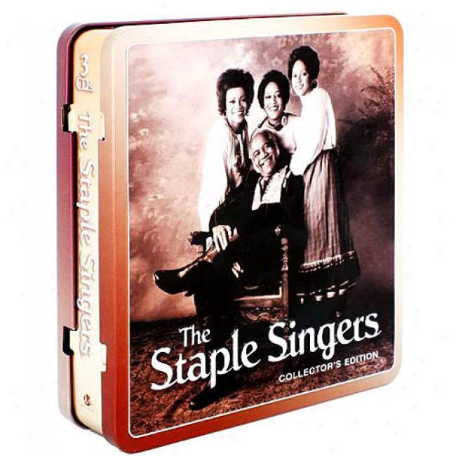 The Staple Singers (collector's Edition) (3 Disc Box Prescribe)
