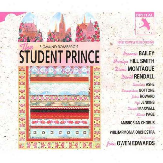The Student Prince Soundtrack (2 Disc Box Set)