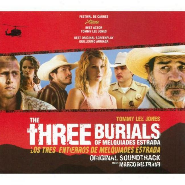 The Three Burials Of Melquiades Estrada Soundtrack (limited Edition) (cd Slipcase)