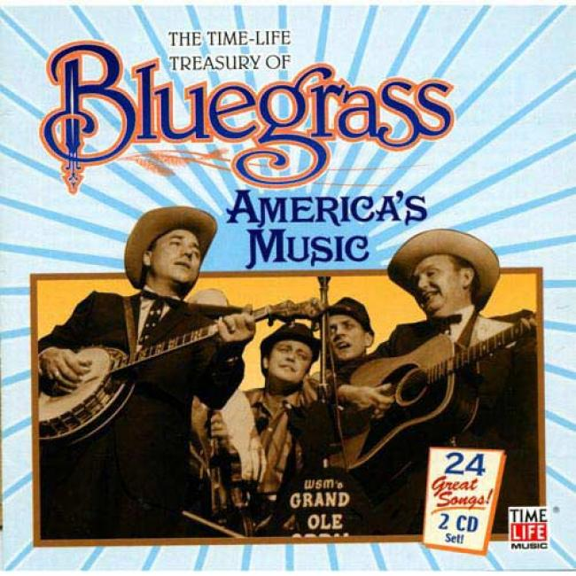 The Time-life Treasury Of Bluegrass: America's Musoc (2cd)