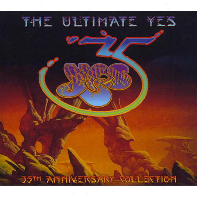 The Ultimate Yes (35th Anniversary Collection) (3cd) (digi-pak)