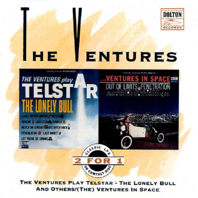 The Ventures Play Telstar - The Lonely Bull And Others/(the) Ventures In Space (remaster)