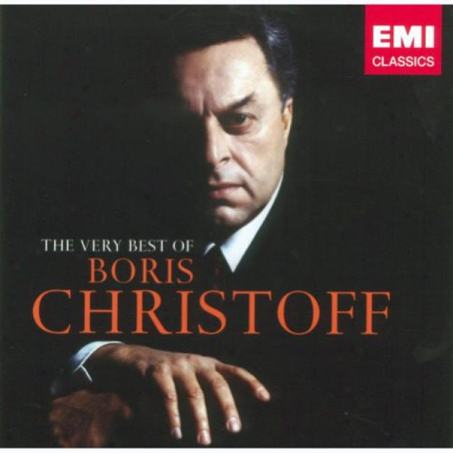 The Very Best Of Boris Christoff (2cd) (remaster)