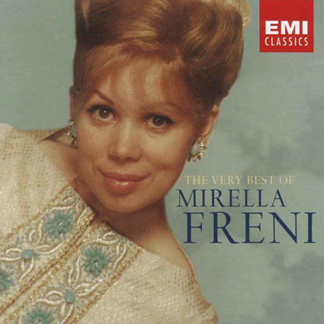 The Very Best Of Mirella Freni (2cd) (remaster)