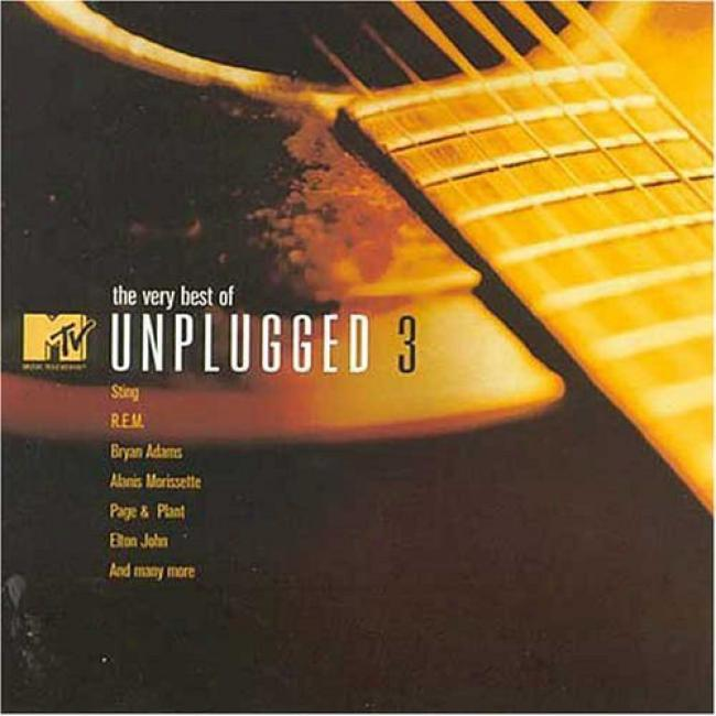 The Very Best Of Mtv Unplugged 3 (includes Dvd)
