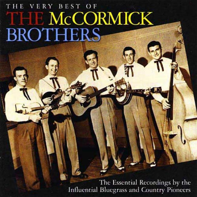 The Very Best Of The Mccormick Brothers (remaster)