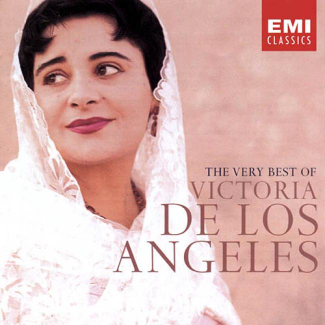 The Very Best Of Victoria De Los Angelds (2cd) (remaster)