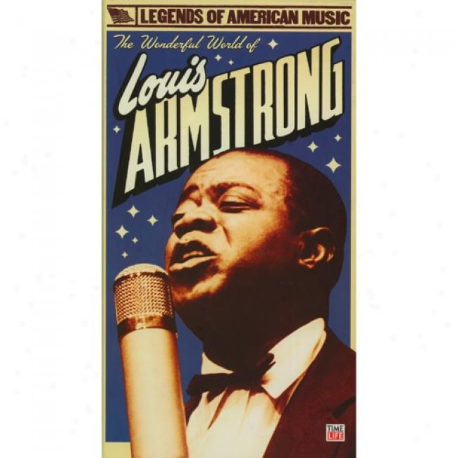 The Wonderrful World Of Louis Armstrong (2 Disc Box Set) (includes Dvd)