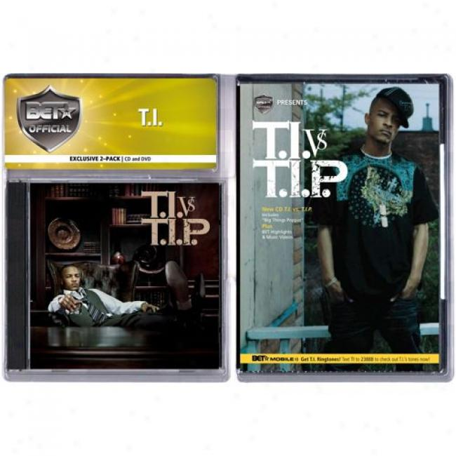T.i. Vs. T.i.p (edited) (with Exclusive Bet Dvd) (cd Slipcase)