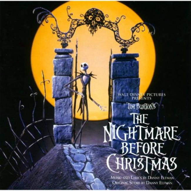 Tim Burton's: The Nightmare Before Christmas Score (speciak Edition) (2cd)